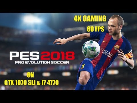 4K Gaming: PES 2018 Full Game - M.United VS Real Madrid -4K
