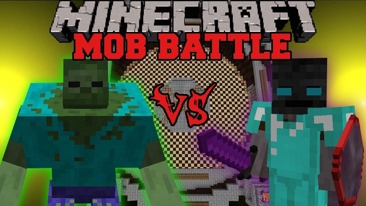 mutant zombie vs walker king minecraft mob battles