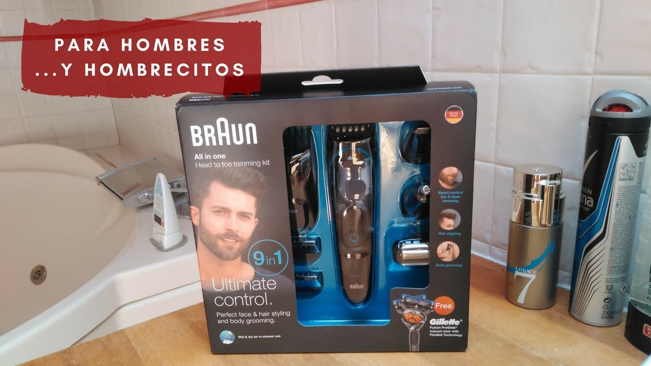 Afeitadora Braun 9en1 Wet   Dry para hombres 3a6a4bfa16ae