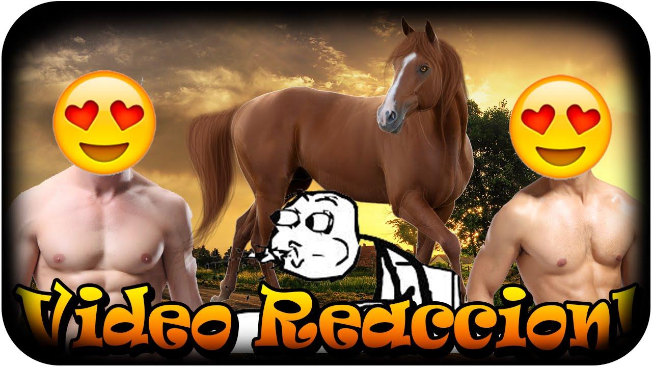 2 Man One Horse Reaction Youtube Promocin De Canales C Ruizopoke Pasando La Noche Gaming