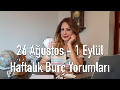 26 Ağustos - 1 Eylül Haftalık Burç Yorumları - Hande Kazanova ile Astroloji