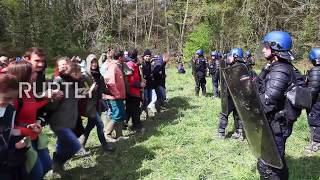 Police Evict Eco Camp Z.A.D.