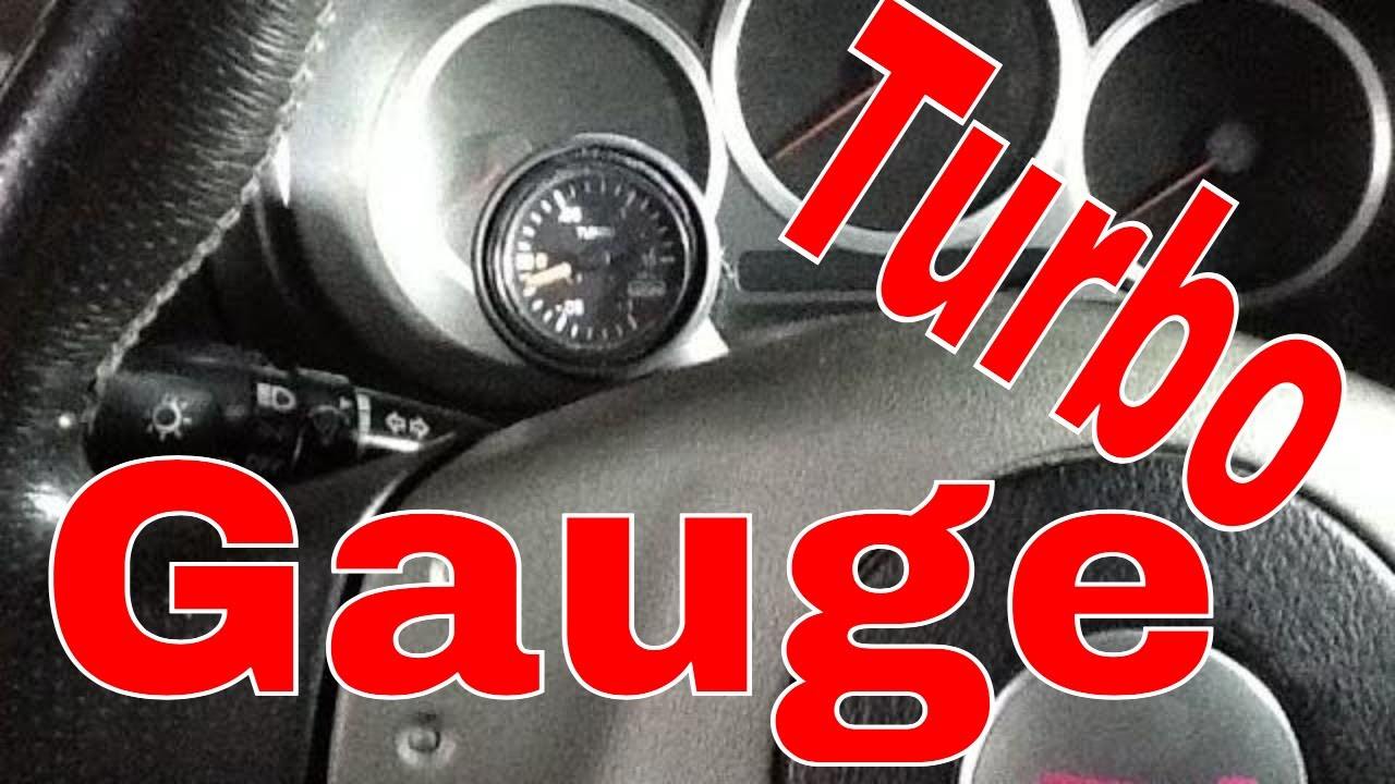 service 1 sti turbo gauge install  [ 1280 x 720 Pixel ]
