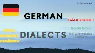 10 Deutsche Dialekte - 10 German Dialects