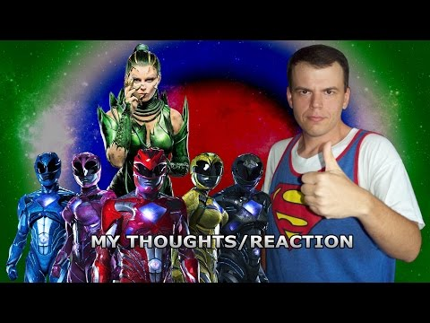 Power Rangers Reboot Movie: My Thoughts/Reaction