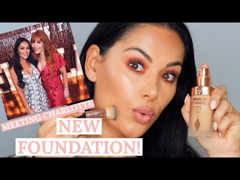 FIRST IMPRESSIONS & REVIEW OF CHARLOTTE TILBURY AIRBRUSH FLAWLESS FOUNDATION | Beauty's Big Sister thumbnail