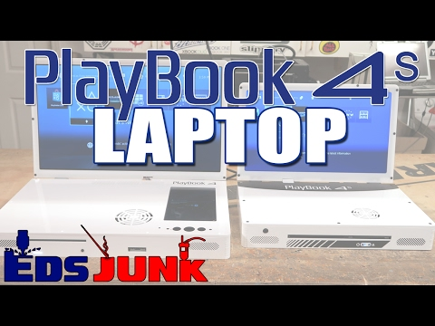 PlayBook 4 S - The NEW SLIM PS4 LAPTOP