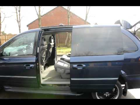 Chrysler Grand Voyager Electric Doors And Boot Stow N Go