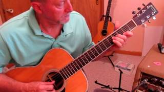 Those Who Wait - Composed by Tommy Emmanuel Tutorial-Lesson by Ed Harp Revised