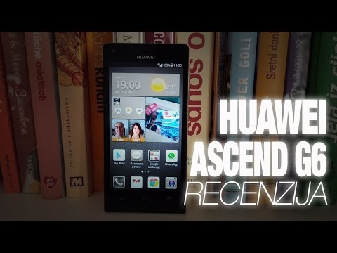 Huawei Ascend G6 Video Recenzija