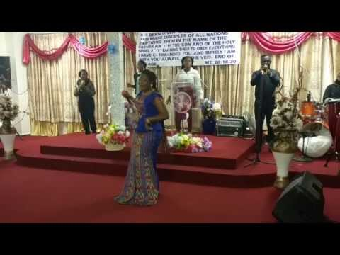 Florence Obinnim's Ministration @ The Festival Of Praise 2015 Victory Christian Centre Aog - Vcc Aog