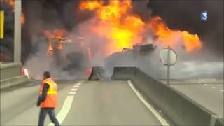 29 octobre 2012, le jour où le pont Mathilde a brûlé