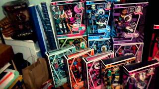 Monster High doll collection (12/11)