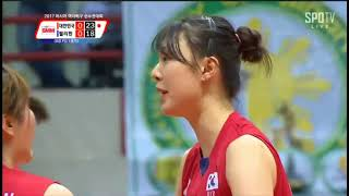 YANG HYO JIN - Middle Blocker korea