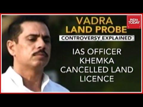#VadraWar: Cong Urges Guv To Revoke Panel Probing Vadra Land