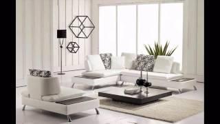 Divani Casa 2981   Modern Bonded Leather Sectional Sofa & Chair