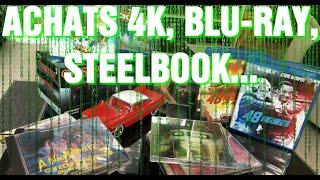 ACHATS 4K BLU RAY STEELBOOK GOODIES SOUNDTRACKS