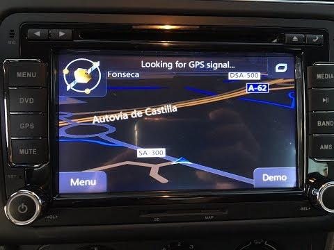 Instalar radio con pantalla volkswagen POLO/BORA/JETTA 2 din GPS