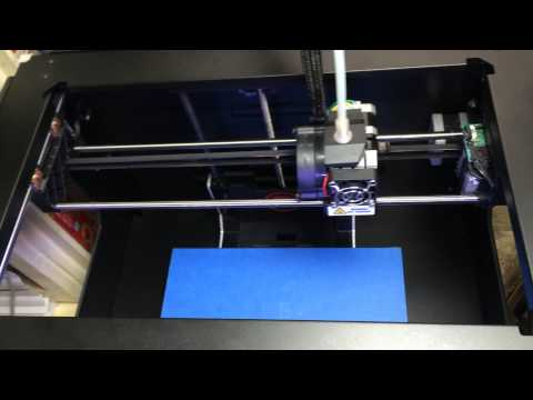 Makerbot Replicator 2 3D Printer Playing the Imperial March