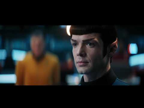 Enterprise destroys Discovery (Short Treks: Farewell Discovery)