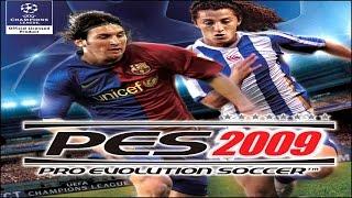 Видео обзор игры — Pro Evolution Soccer 2009.