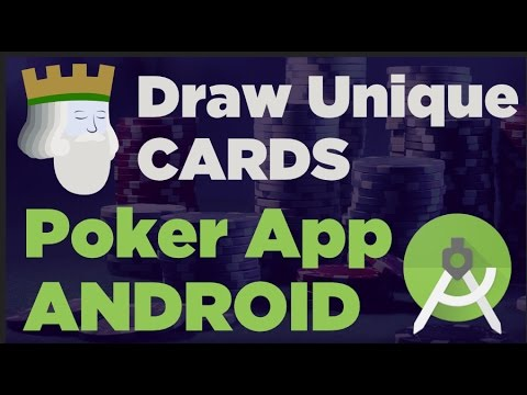 How To Draw Unique Cards From A 52 Card Deck In Android Studio