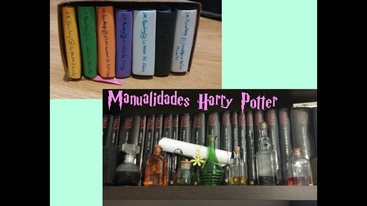 Manualidades harry potter box set y pociones te deseo un - Manualidades originales y faciles ...