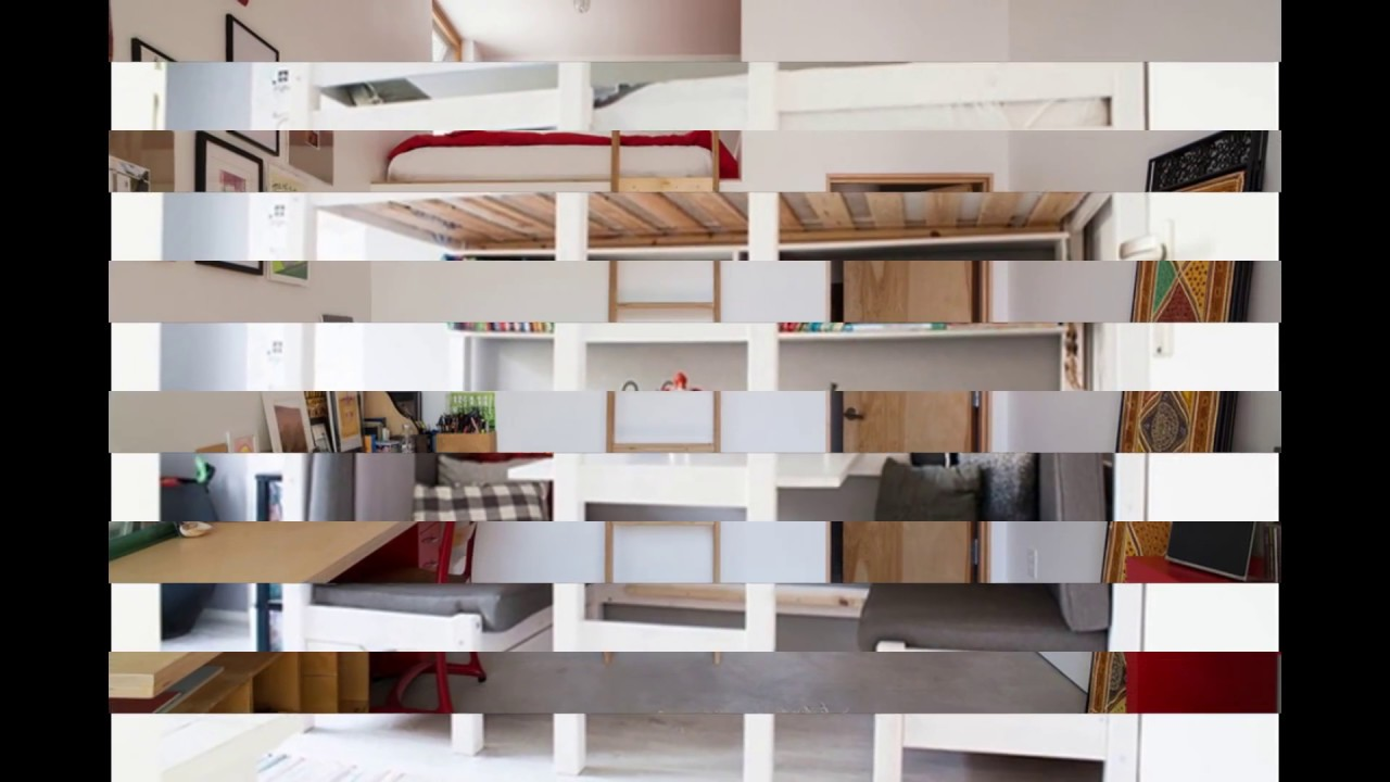 Awesome Loft Beds With Closet Underneath - YouTube