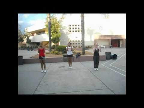 Valley View High School Cheer Tryout 2011 Moreno Valley