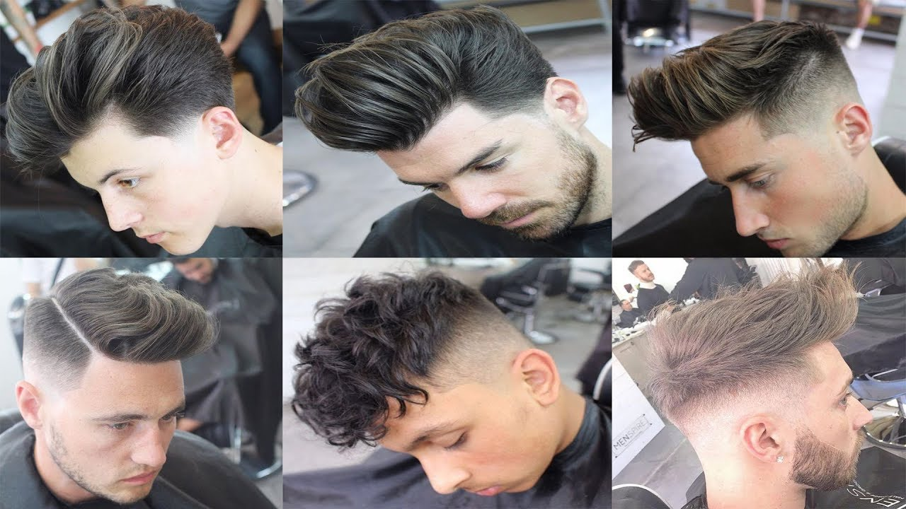 Top 6 Tunsori Barbati 2018 Top 6 Haircut Guys 2018 Youtube