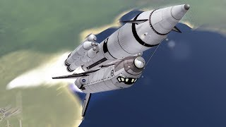 KSP: Flying a Space Shuttle!