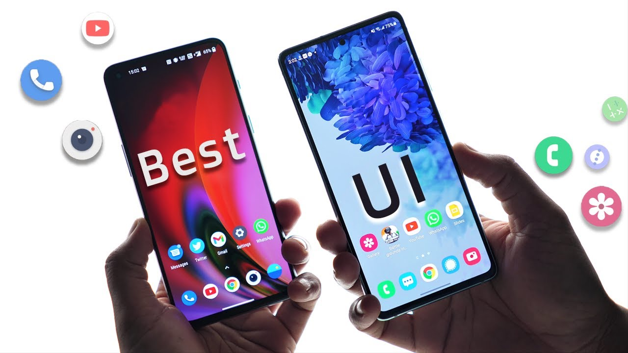 Samsung One UI vs Oxygen OS - Best UI Comparison !