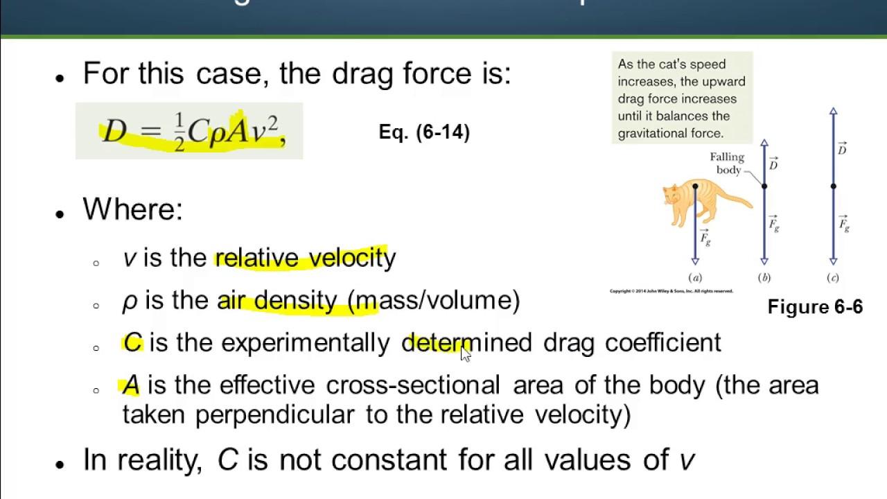 formula for terminal velocity