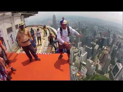 Base Jumping in Kuala Lumpur