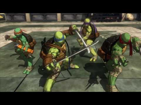Let's play teenage mutant  ninja turtles TM mutants in Manhattan part 1