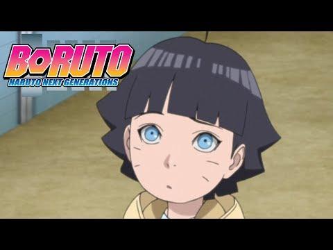 Himawari Meets Akamaru | Boruto: Naruto Next Generations