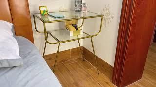 모던미드센츄리 협탁 모듈선반 쇼파 침대 사이드테이블 원…