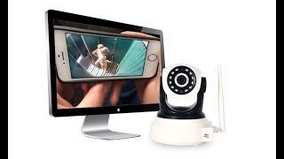 Видеонаблюдение с помощью одной IP камеры MARVIOTEK. Посылка из Китая