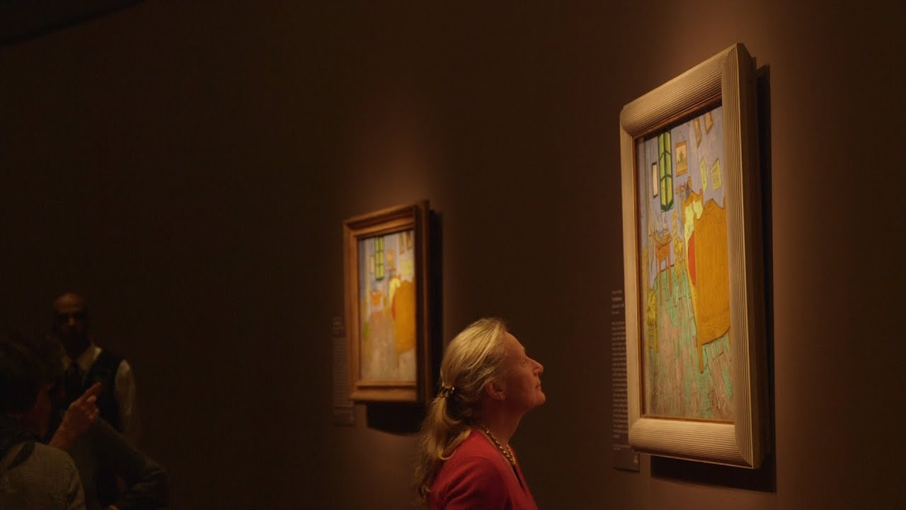 Van Gogh' Descendants Machteld Laer With Gloria
