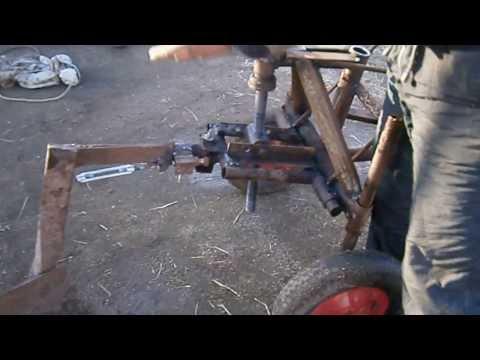 Культиватор КТД-1,3 к мини трактору МТЗ - YouTube