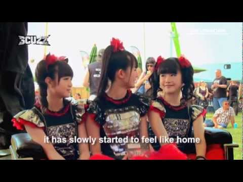 Babymetal @ Download Festival Interview Scuzz TV