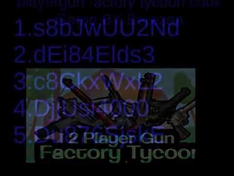 2 player gun factory twitter codes