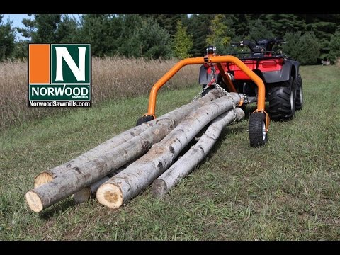 Norwood Log Skidding Arches & Winches – SkidWinch, SkidMate, SkidLite & LogHog – For ATVs & tractors