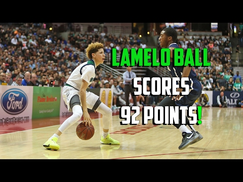 LaMelo Ball Scores 92 Points! FULL HIGHLIGHTS! Chino Hills vs Los Osos!!