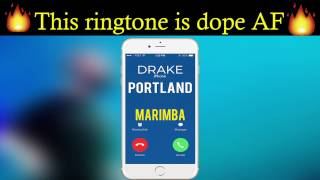 "Enjoy marimba remix of portland: http://smarturl.it/portlandmnd best iphone 7 ringtone drake's ""portland"" for your android/iphone! ***********************..."
