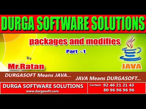 Corejava-packages and modifies part-1