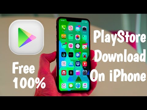 How To Download Play Store On IPhone & IPad  Workng 100%