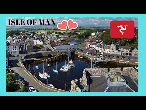 ISLE OF MAN, a tour of beautiful and historic CASTLETOWN