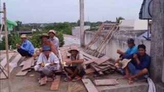 vietnamese farmers build houses part 1