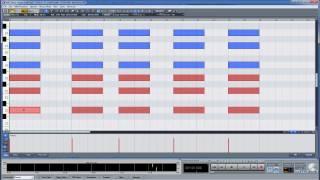 Samplitude & Sequoia Midi-06: Midi Note Manipulation